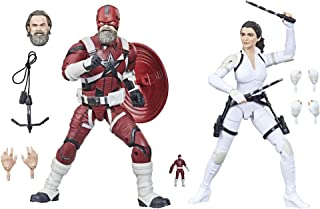 Hasbro Marvel Legends Series Avengers 6-inch Scale Red Guardian & Melina Vostkoff Figure 2-Pack and 12 Accessories For Kid...