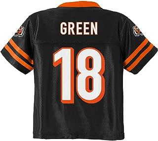 Outerstuff A.J. Green Cincinnati Bengals #18 Black Youth Home Player Jersey