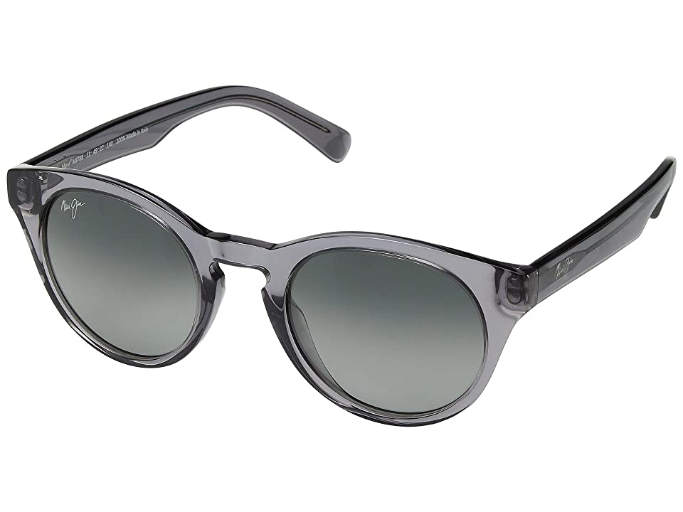 Maui Jim Dragonfly (Translucent Grey/Neutral Grey) Athletic Performance Sport Sunglasses