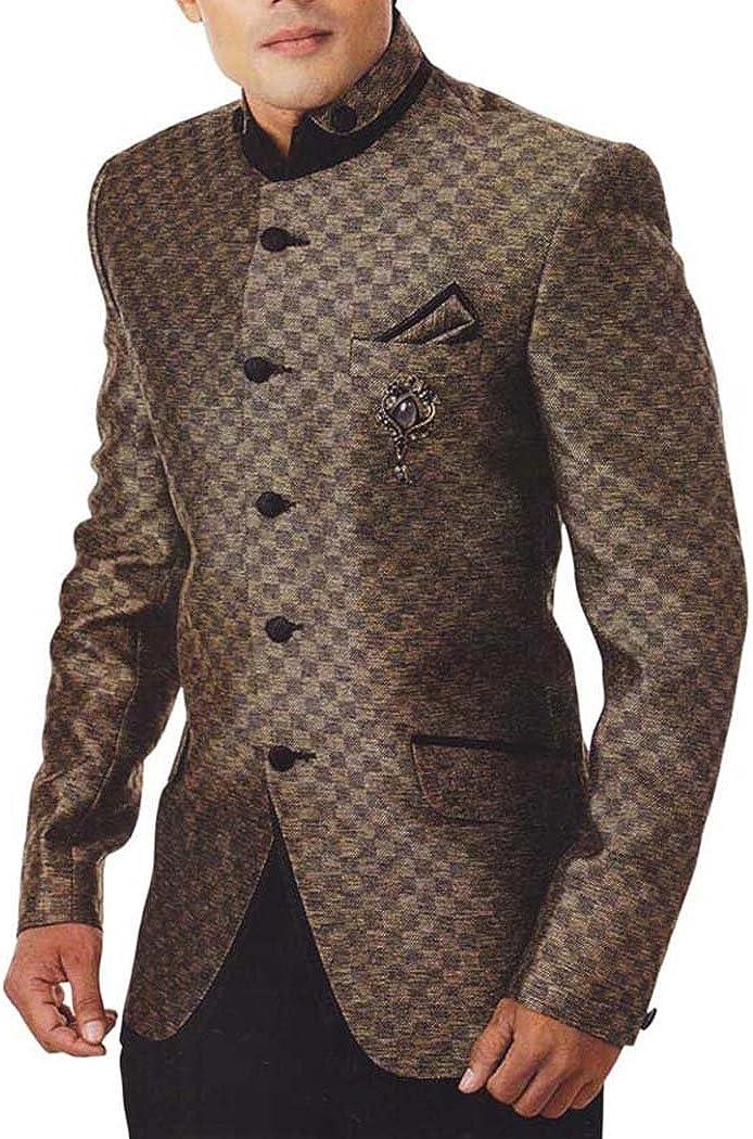 INMONARCH Mens Green Tuxedo Suit Designer Party 2 Pc TX950L54 54 Long Moss