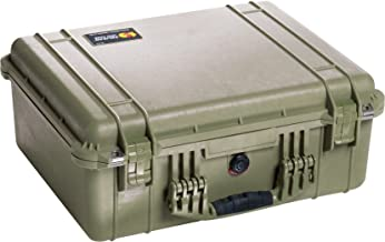 Pelican 1550 Case With Padded Dividers (OD Green)