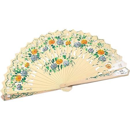 HandFan  DRAGON FLY  Handpainted Fan  Wooden handfan  cotton handfan  Spanish handfan  Modern handfan  Pop handfan  artisan handfan