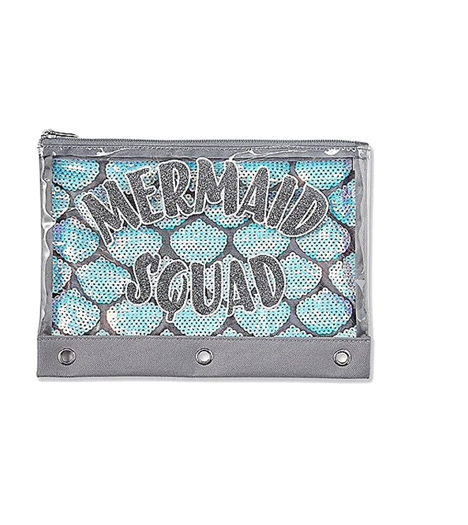 Justice Pencil Pouch Case Holder Mermaid Squad