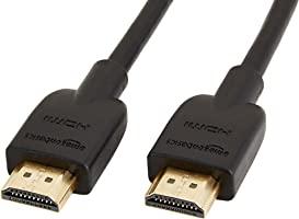 AmazonBasic 高速HDMI电缆 - 1.8m (Type A雄端 - Type A公) HDMI2.0规格