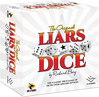 Mr. B Games Liars Dice 30th Anniversary Edition