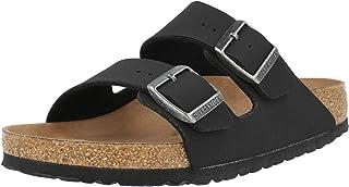 Birkenstock Women's Arizona Birko-Flor Birkibuc Vegan Slip-on Sandals