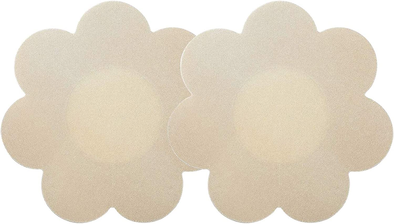 40 Pairs Nipple Breast Covers Disposable Breast Pasties Adhesive Bra Nippleless Cover