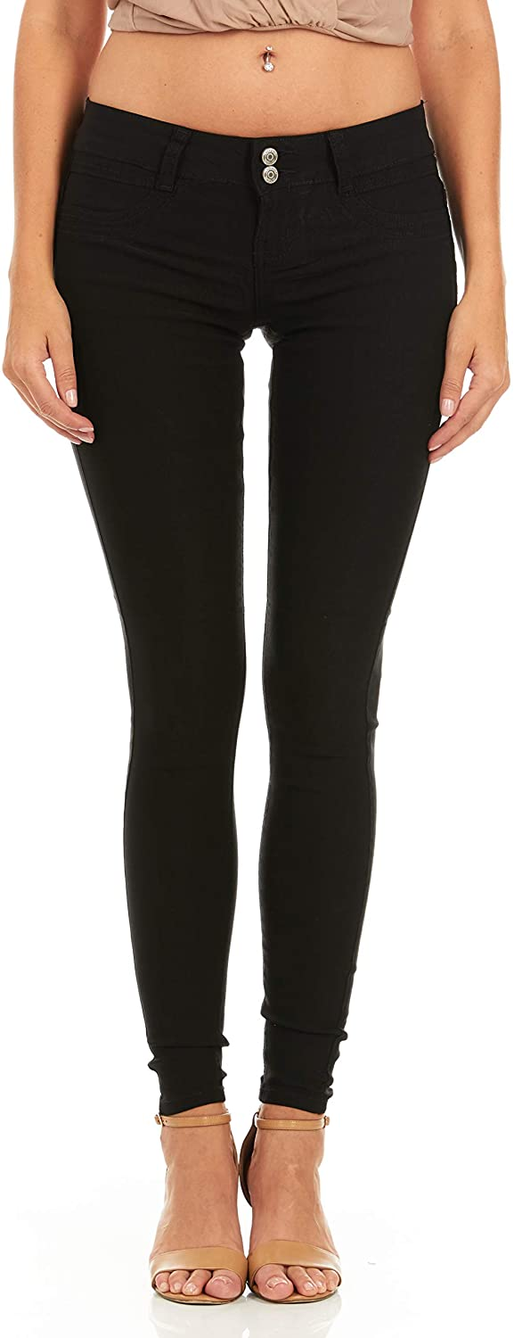 V.I.P. Max 82% OFF JEANS Women's soft stretchy white pa Sales of SALE items from new works red black navy khaki