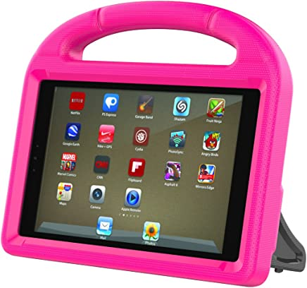 """Gogoing Case for Amazon Fire HD 8 Tablet,[Light Weight] [Shockproof] Kids Children Cover Case with Carrying Handle Stand for Amazon Fire HD 8 Tablet (Fit""""2016Release/2017 Release"""")(Pink)"""