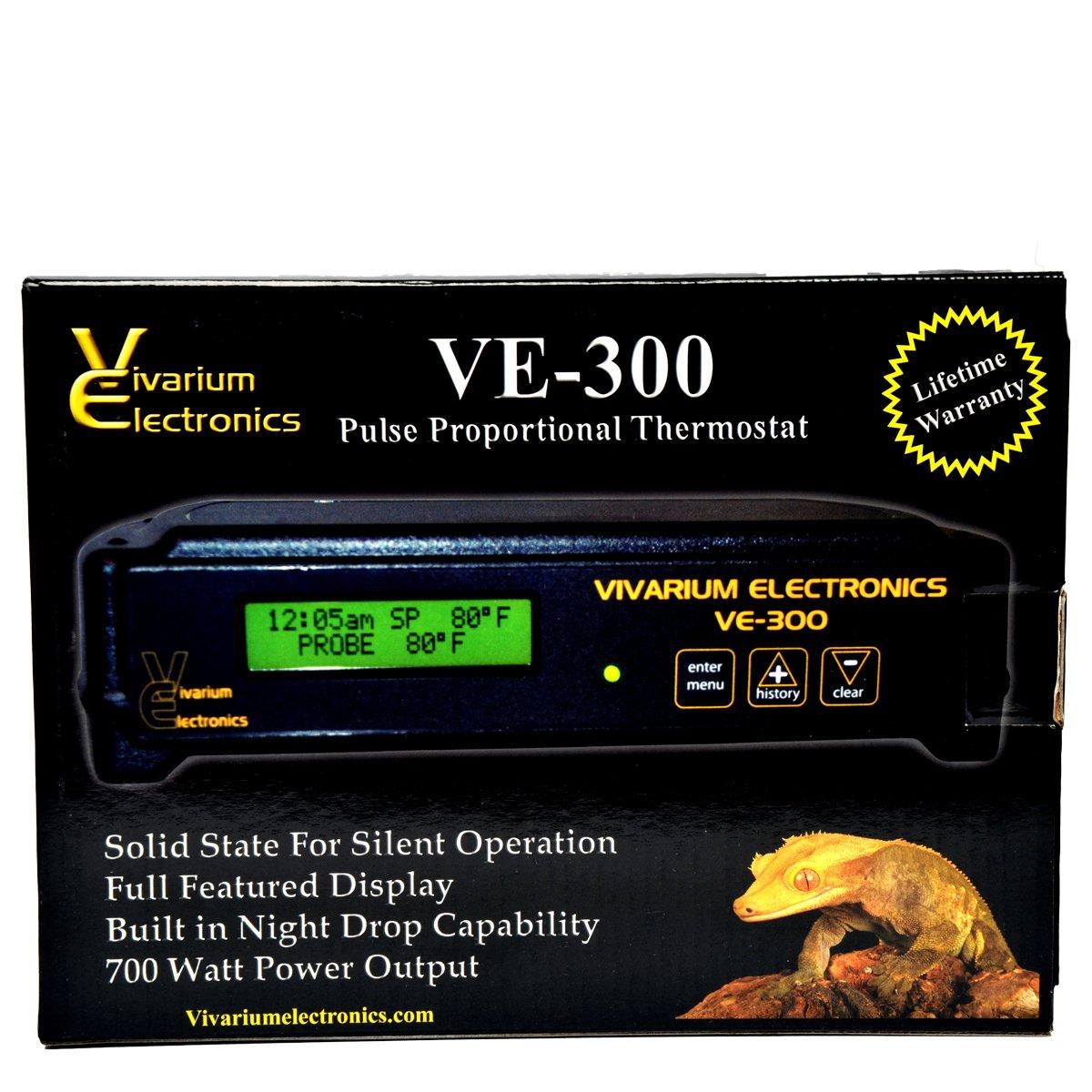 Vivarium Electronics VE-300 Thermostat (Reptile Basics)