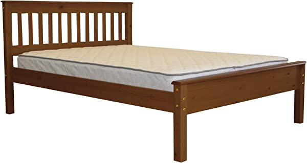Bedz King Mission Style Full Bed Espresso