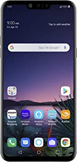 LG G8 ThinQ with Alexa Hands-Free � Unlocked SMARTPHONE � 128 GB � Aurora Black (US Warranty) � Verizon, AT&T, T�Mobile, Sprint, Boost, Cricket, & Metro
