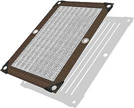 LIXIONG schaduwdoek schaduwnet, UV-bestendig anti-aging scherm luifel, rechthoekige warmte-isolatie zonnescherm zeil voor ...