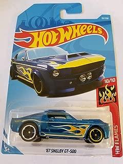 Hot Wheels 2019 HW Flames - '67 Shelby GT-500 [Dark Blue]