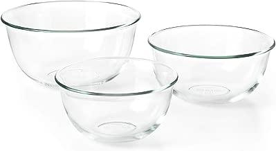 OXO Good Grips 3 Piece Glass Bowl Set