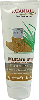 PATANJALI Multani Mitti Face Pack (60 Grams)