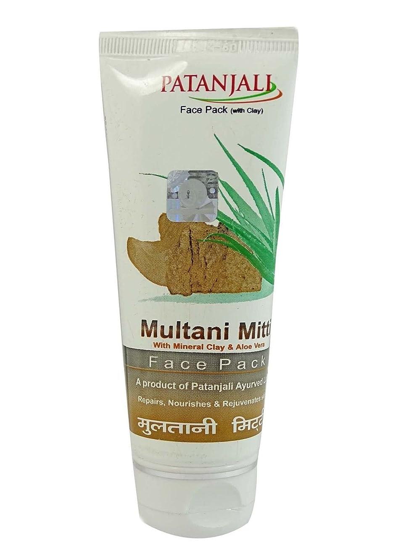 ボタンオンス悔い改めるムルタニミッティ フェイスパック 60g Multani Mitti Face Pack