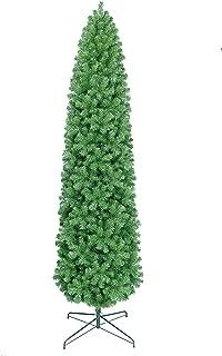 Overstock 9' Slim Pencil Pine Christmas Tree