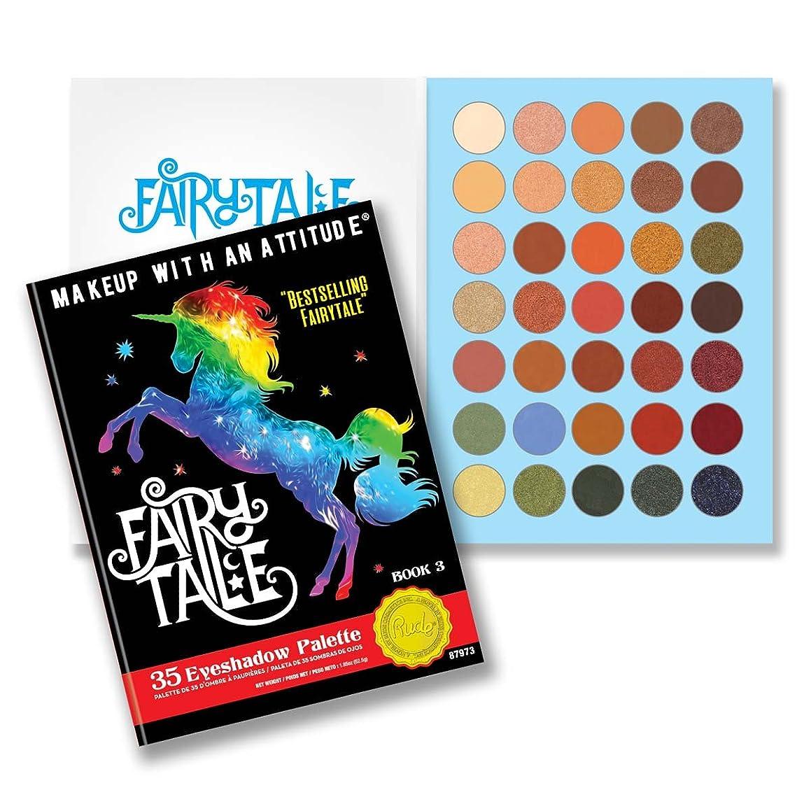 クモダムカメラ(3 Pack) RUDE Fairy Tales 35 Eyeshadow Palette - Book 3 (並行輸入品)
