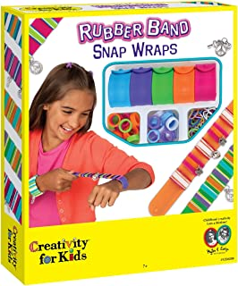 Creativity for Kids Rubber Band Snap Wraps