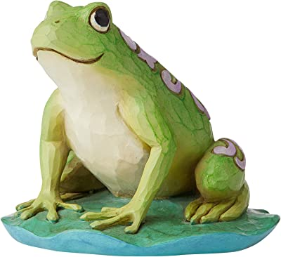 Enesco Jim Shore Heartwood Creek Mini Frog Figure 3 in Tall-Home Decor Figurine Statue