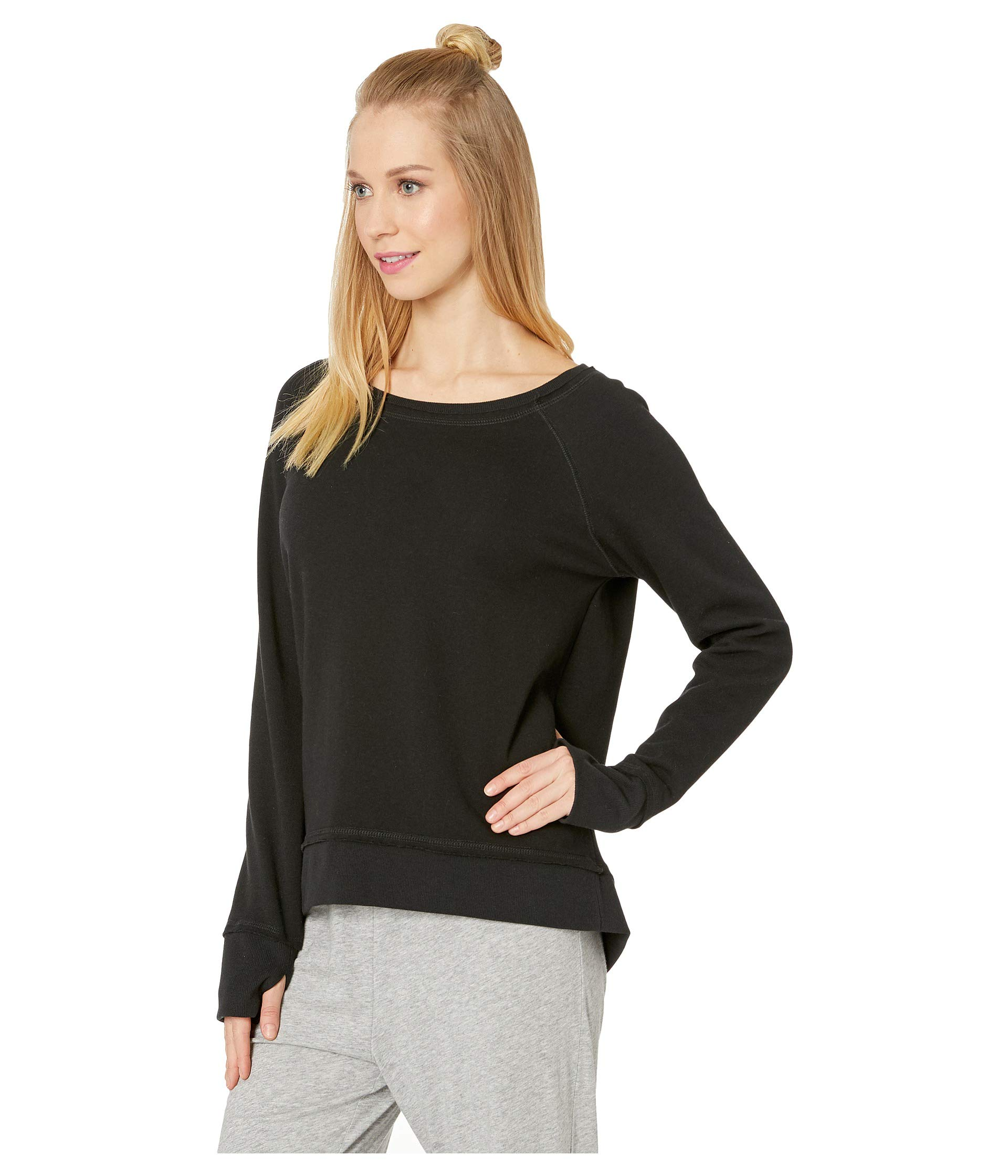 j Sweater Salvage Black Silky P Lounge vSZPfqA