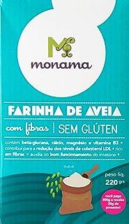 Farinha de Aveia sem Glúten Saudável Monama 220g