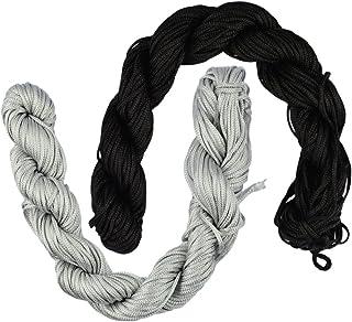 HOMYL 60m Nylon Braided Cord Macrame Beading DIY Thread String Kumihimo Craft 1mm