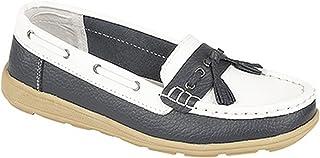 comprar comparacion Boulevard - Zapatos náuticos con flecos para mujer