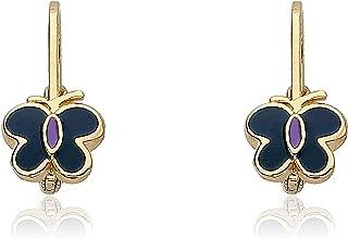 brass earrings for sensitive ears