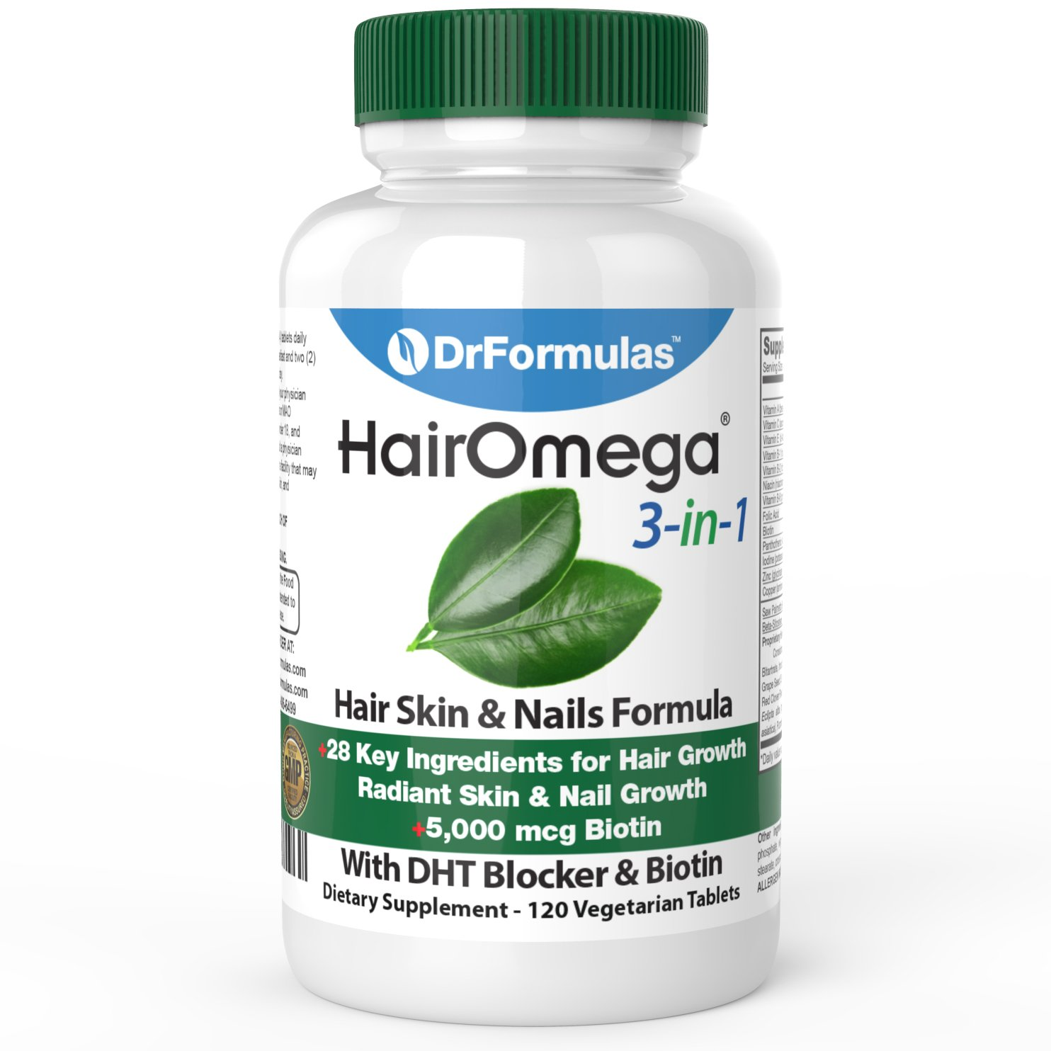 DrFormulas HairOmega Vitamins Blocker Supplement