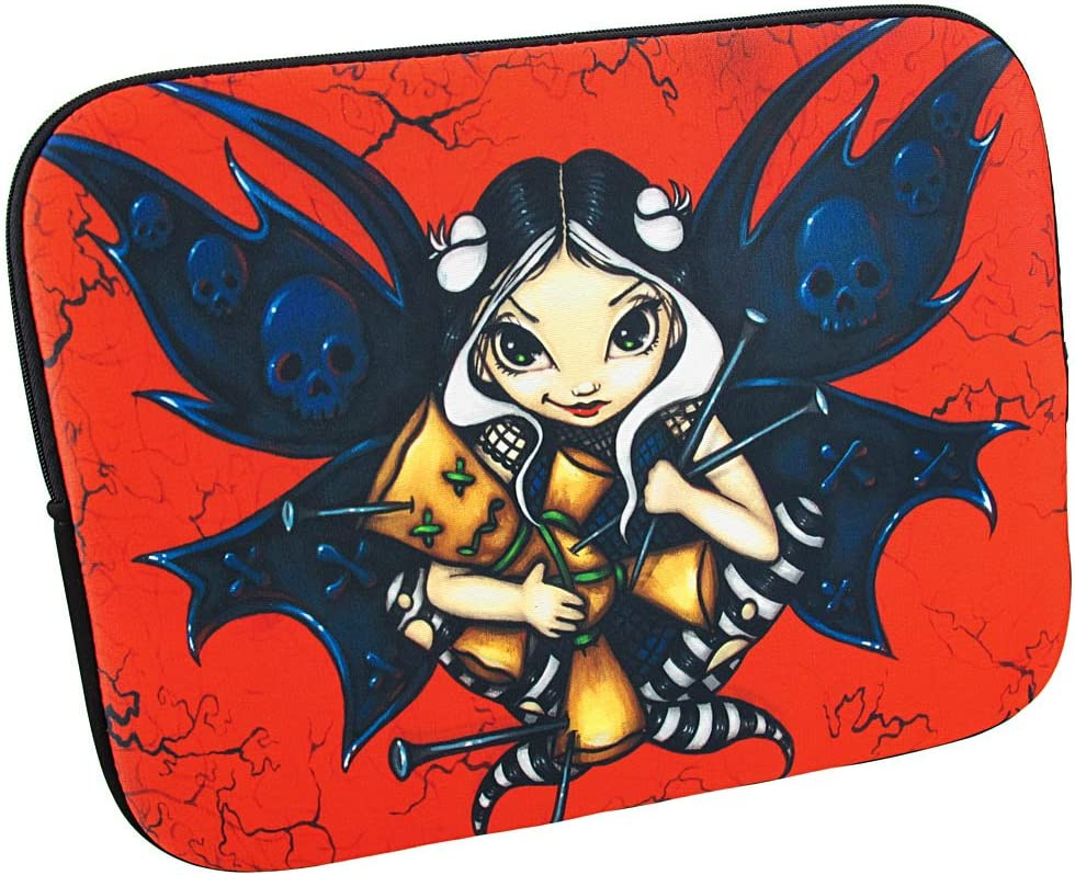 Red Black Max 40% OFF `Fairy Voodoo` Sleeve Laptop High quality Fairy Strangeling