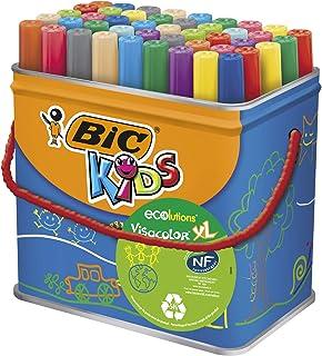 BIC Kids Visacolor XL ECOlutions Colouring Pens 48 Classpack