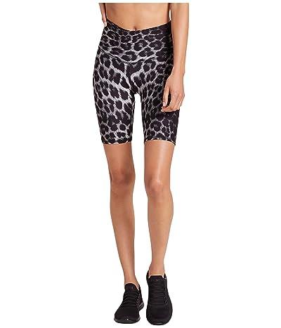 Niyama Sol Leopard Biker Shorts (Black) Women