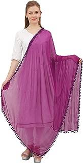Indian Women Chiffon Dupatta Neck Wrap Long Stole Scarves Chunni