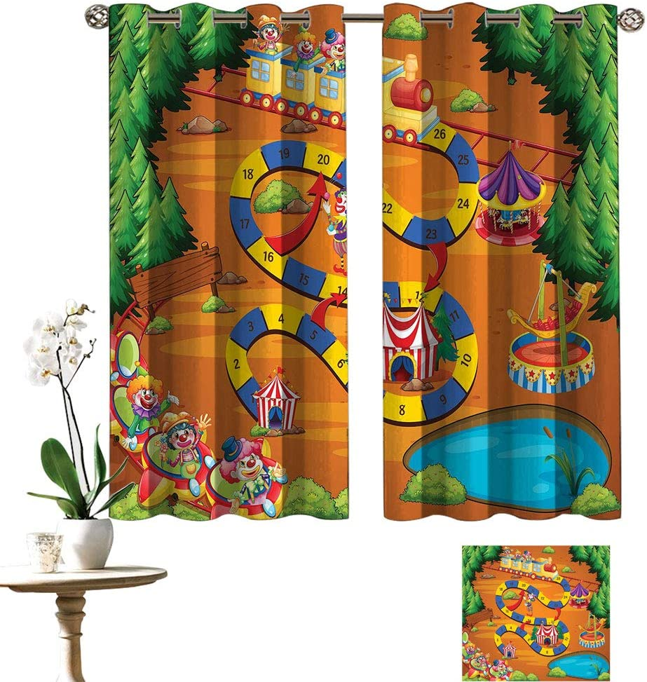 Lakabara low-pricing Kids Activity New Free Shipping Blackout Curtain Lost Helping Panels The