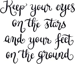 Keep your eyes on the stars and your feet on the ground: Vision Board Journal, Planner and Goal Tracker