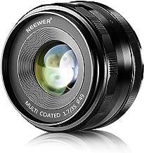 Neewer 35 mm f/1.7 Lentes con Fuego Manual para cámaras Digitales Sony E-Mount con Sensor APS-C, como Sony A7III A9 NEX 3 3N 5 NEX 5T NEX 5R NEX 6 7 A6400 A5000 A5100 A6000 A6100 A6300 A6500