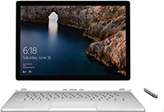 Microsoft Surface Book 512GB with Performance Base (13.5 Inch Touchscreen, 2.6GHz Intel Core i7, 16GB RAM) Version (Renewed)