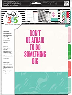 Me & My Big Ideas Happy Big Planner Edition, Month