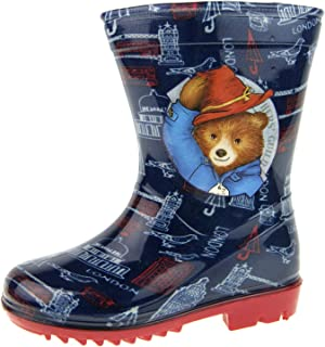 Paddington Bear Boys Wellington Boots Wellies