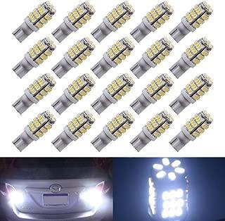 XT AUTO 20 x RV Trailer T10 921 194 168 2825 42-SMD Cool White LED Backup Reverse Lights Bulbs