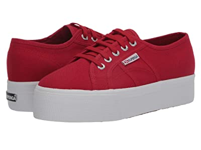 Superga 2790 Acotw Platform Sneaker (Flame Red) Women