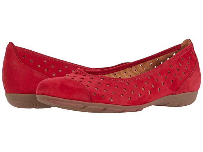 Gabor   44.169 (Rosso) Womens Flat Shoes