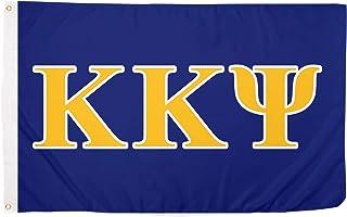 Kappa Kappa Psi Letter Fraternity Flag Greek Banner Large 3 feet x 5 feet Sign Decor KKPsi