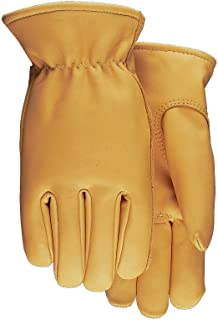 American Made Top Grain Cowhide Leather Work Gloves , 688, Size: Large