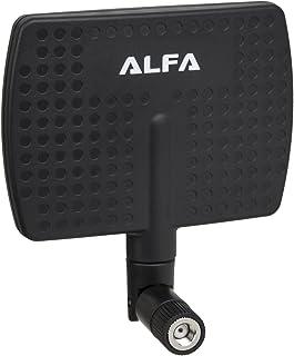 Alfa 2.4HGz 7dBi RP-SMA Panel Screw-On Swivel Antenna for Alfa - WUS036H WUS036H1W APA05 WUS036NH WUS036NEH WUS048NH WUS03...