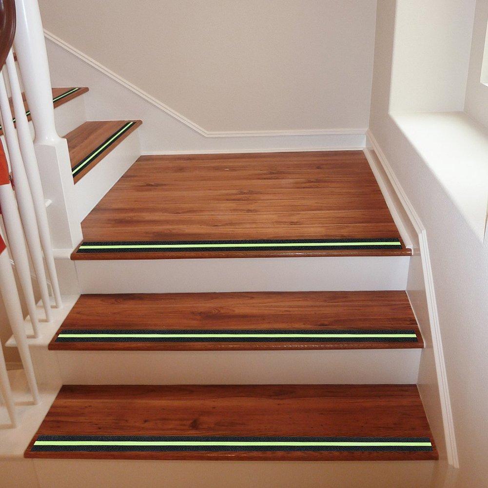 Sue Supply - Cinta adhesiva de seguridad antideslizante para escaleras (5 m): Amazon.es: Hogar