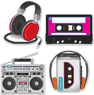 Beistle 54667 Cassette Player Cutouts, 12