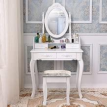 Generic Anity Tisch Spiegel Hocker Spiegel Schminktisch mit Schubladen Spiegel und Schminktisch mit Spiegel